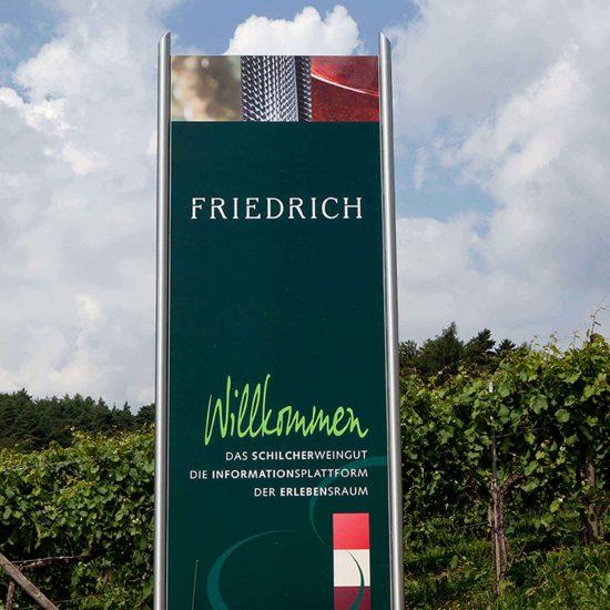 Friedrich Schilcherweingut Pylon