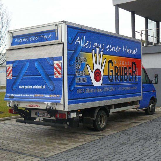 Gruber Michael Folierung des Kleintransporter