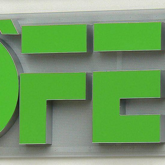 Höfer 3D Buchstaben
