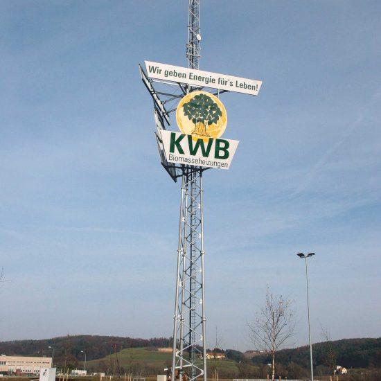KWB Biomassenheizung Pylon